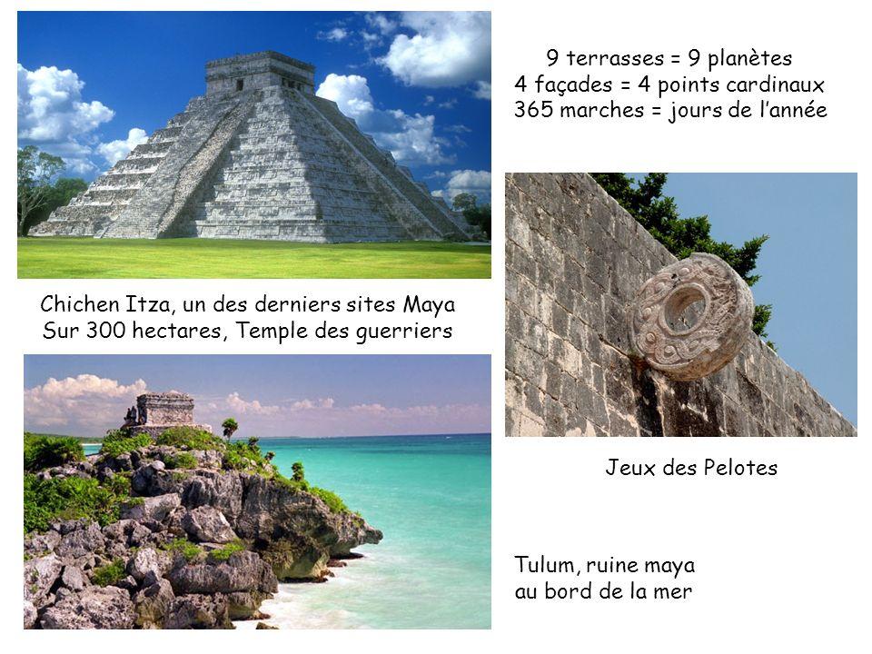 4 façades = 4 points cardinaux 365 marches = jours de l'année