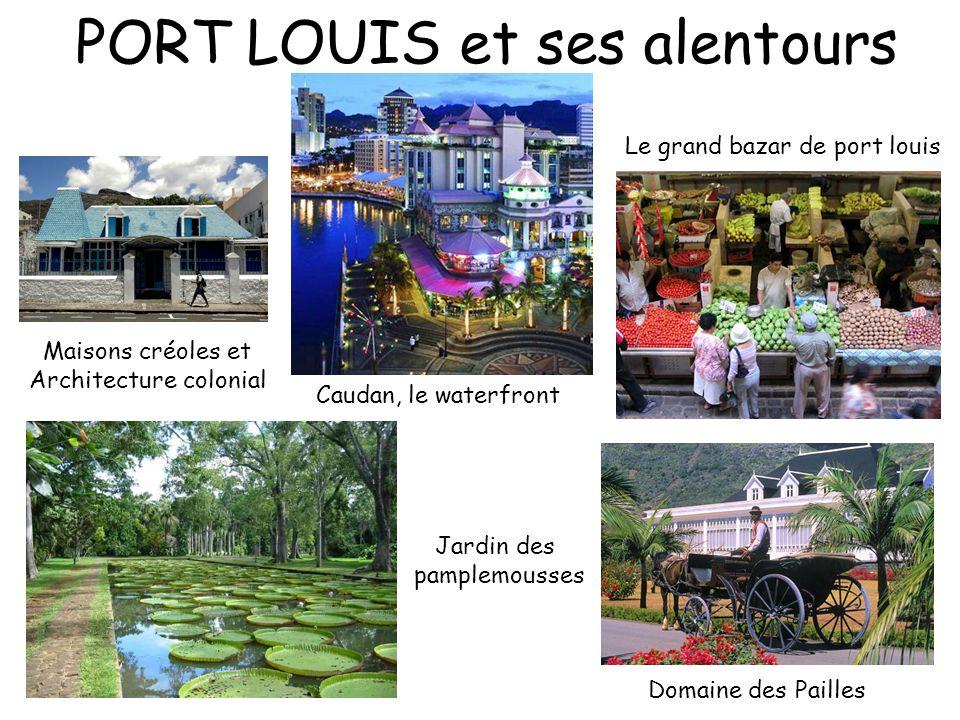PORT LOUIS et ses alentours