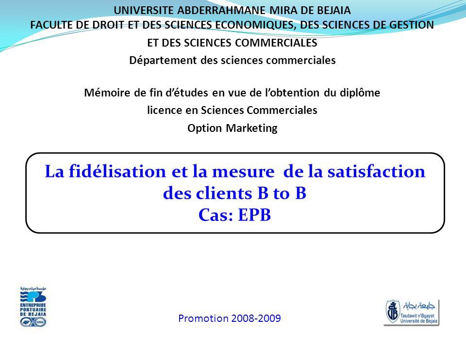 La fidélisation et la mesure de la satisfaction des clients B to B