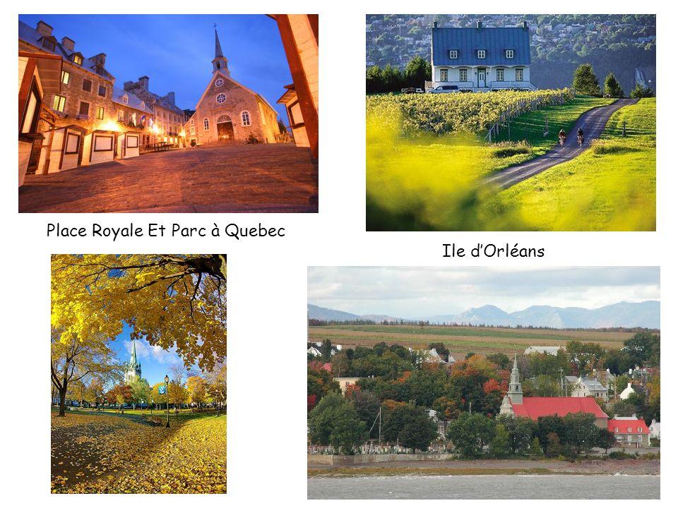Place Royale Et Parc à Quebec