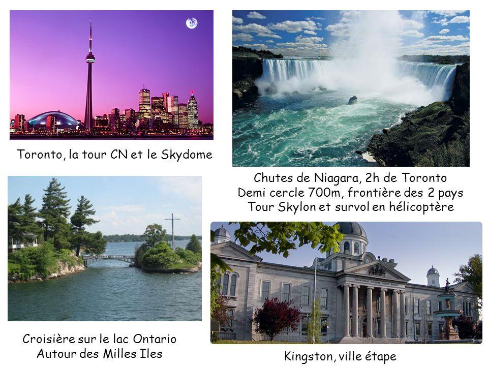 Toronto, la tour CN et le Skydome