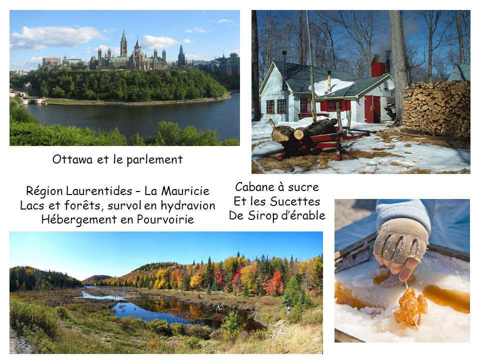 Région Laurentides – La Mauricie Lacs et forêts, survol en hydravion