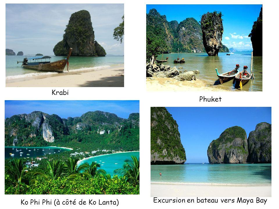 Krabi Phuket Excursion en bateau vers Maya Bay Ko Phi Phi (à côté de Ko Lanta)