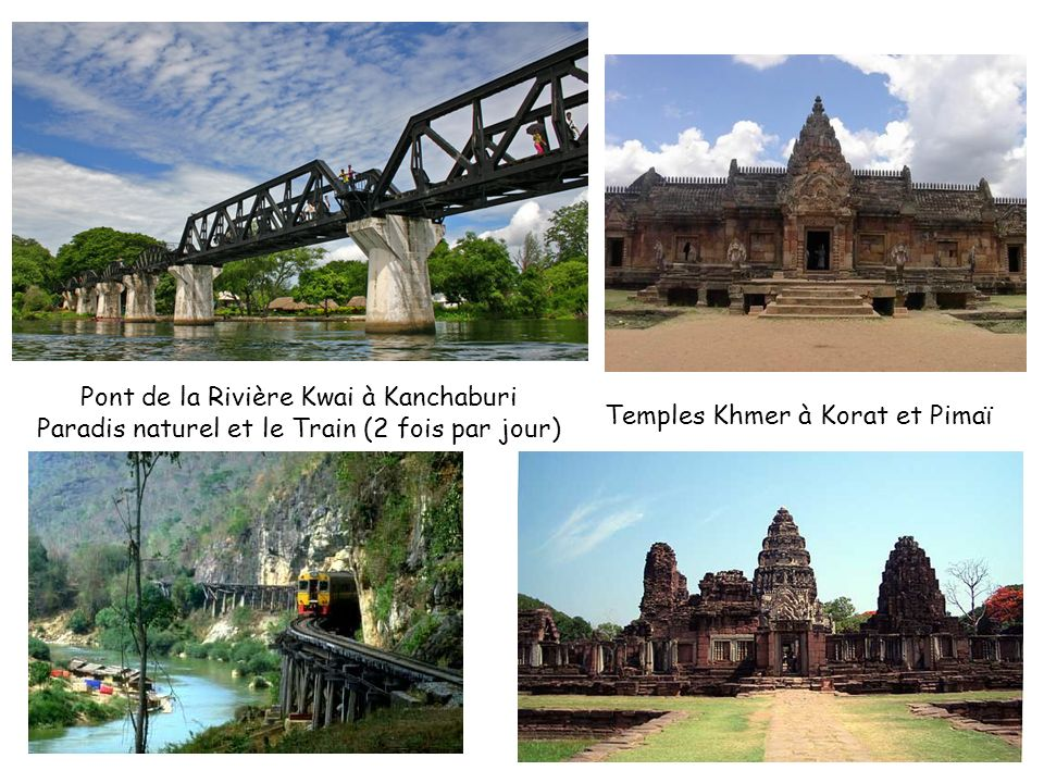 Pont de la Rivière Kwai à Kanchaburi