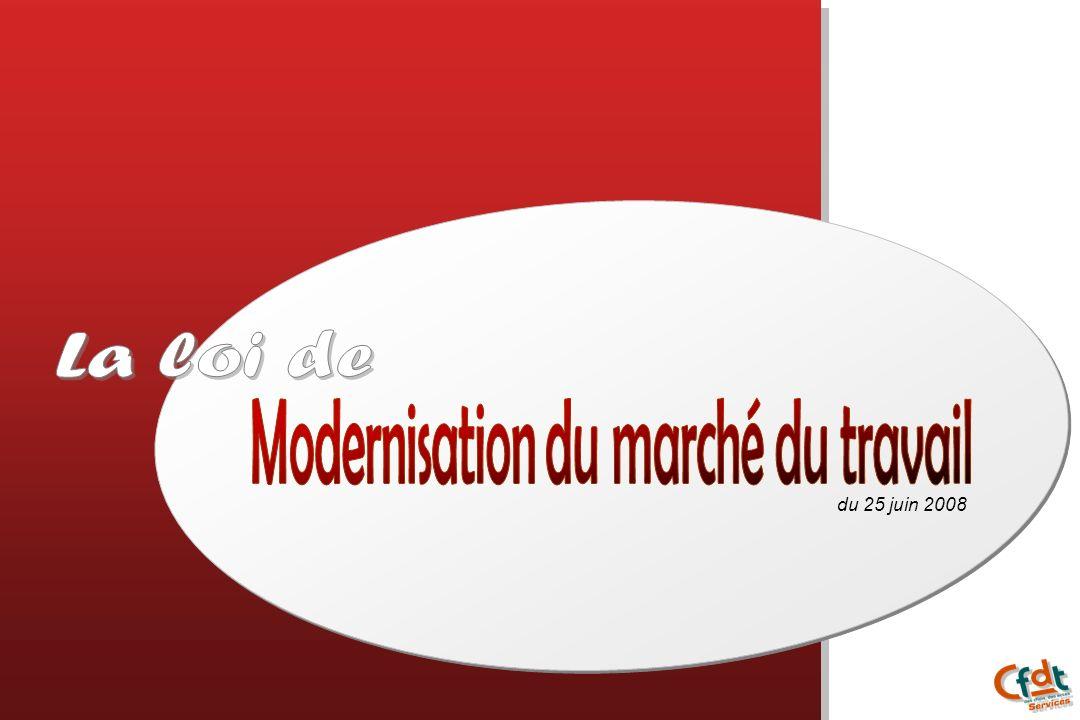 Modernisation du marché du travail