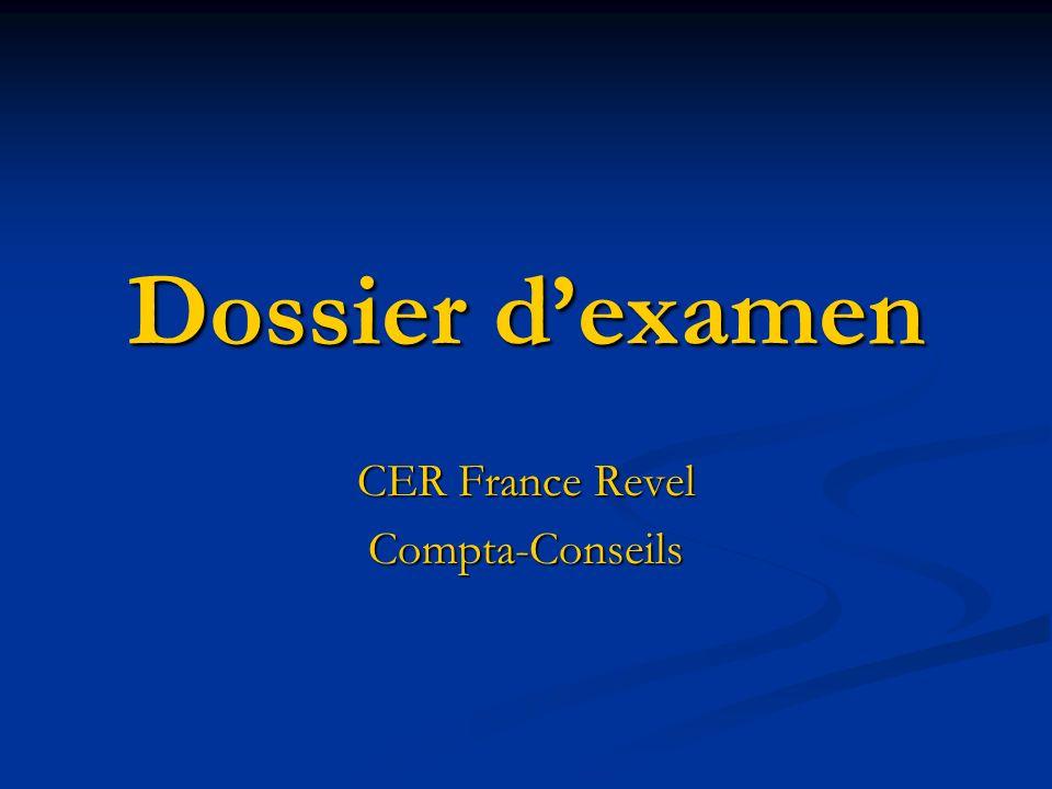 CER France Revel Compta-Conseils
