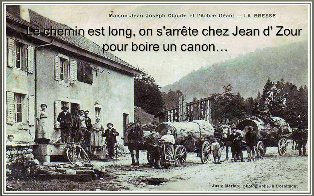 Le chemin est long, on s arrête chez Jean d Zour