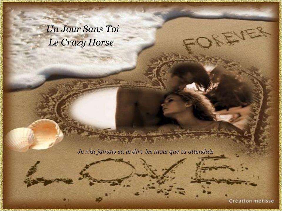 Un Jour Sans Toi Le Crazy Horse Je n'ai jamais su te dire les mots que tu attendais