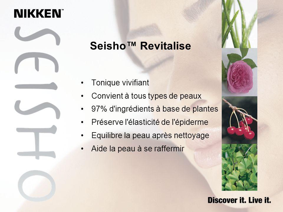 Seisho™ Revitalise Tonique vivifiant Convient à tous types de peaux