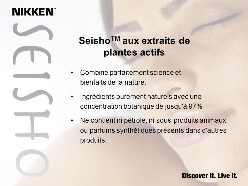 SeishoTM aux extraits de plantes actifs
