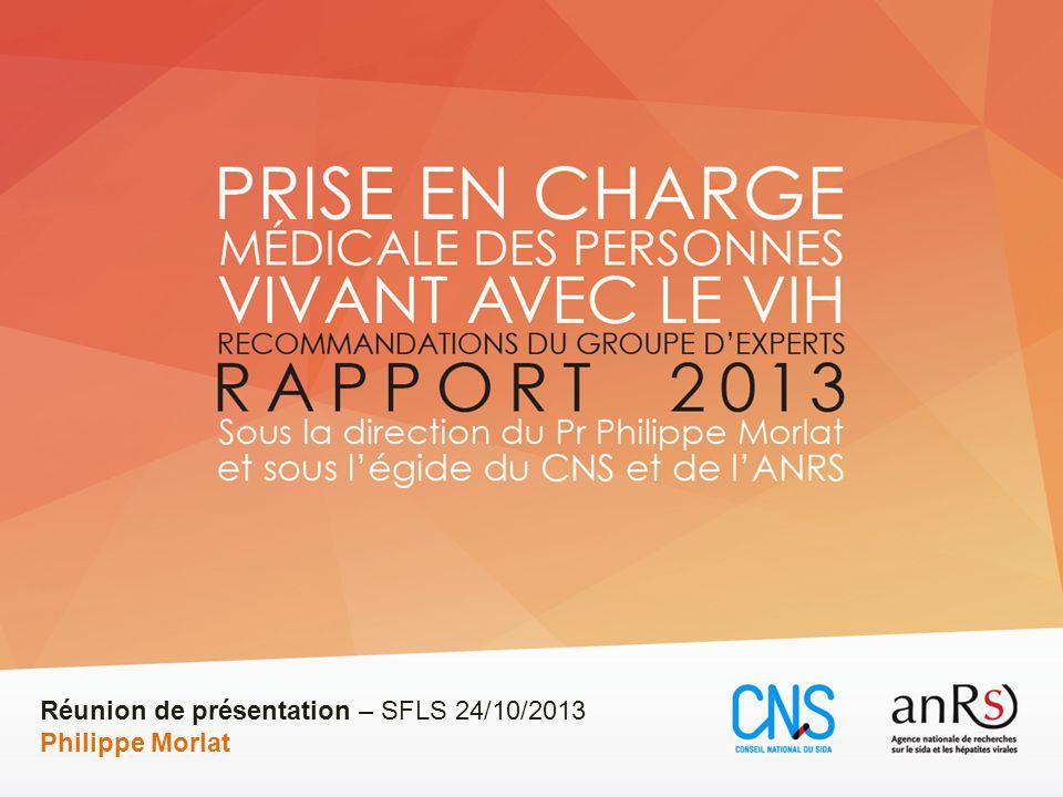 Réunion de présentation – SFLS 24/10/2013