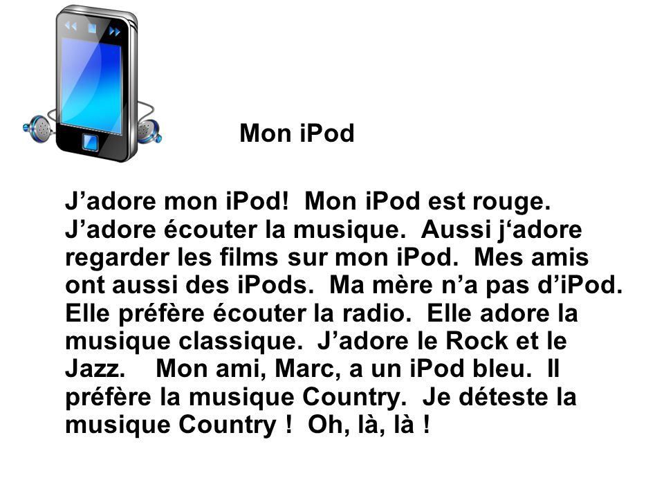 Mon iPod
