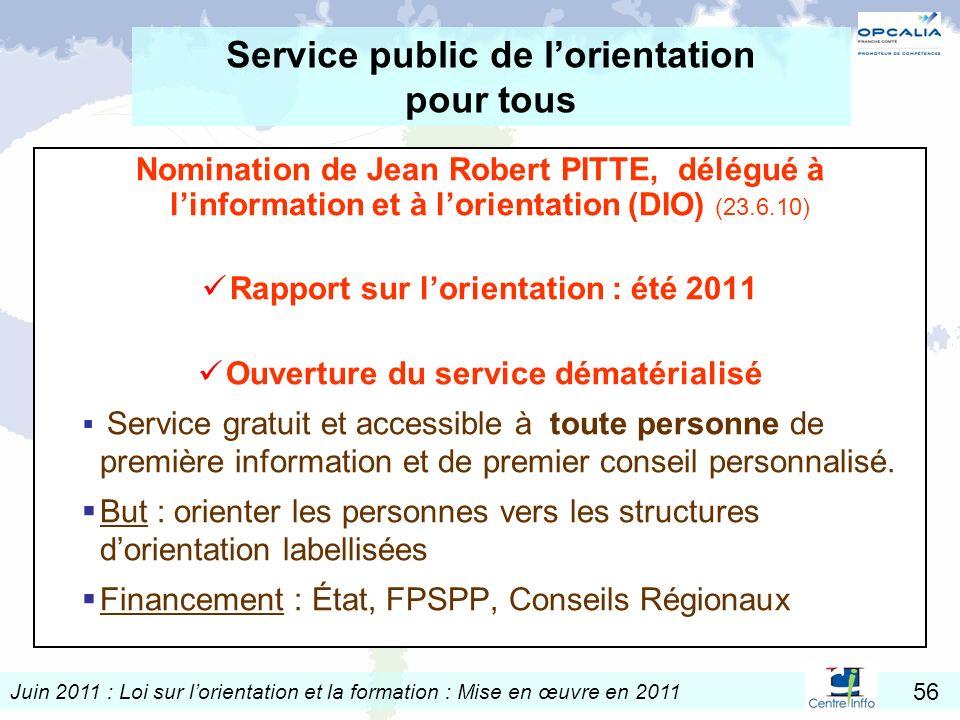 Service public de l'orientation pour tous