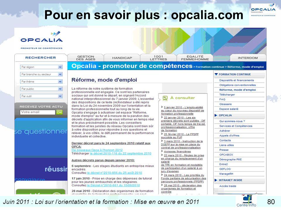 Pour en savoir plus : opcalia.com