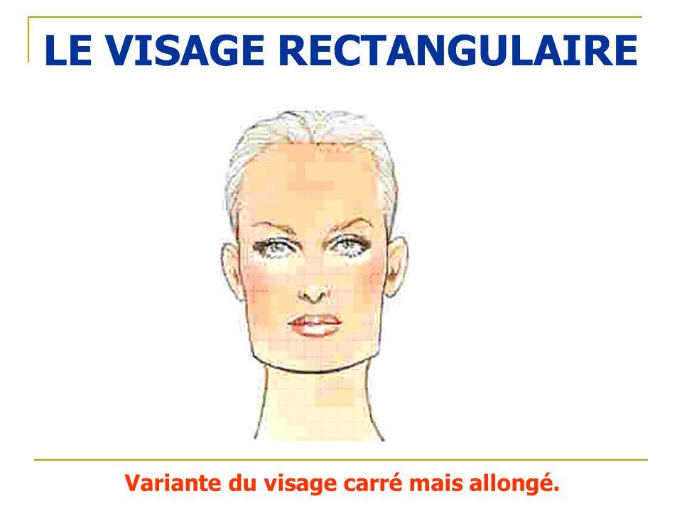LE VISAGE RECTANGULAIRE