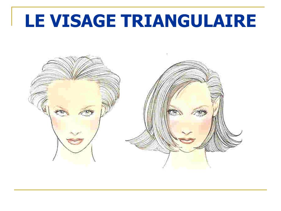 LE VISAGE TRIANGULAIRE