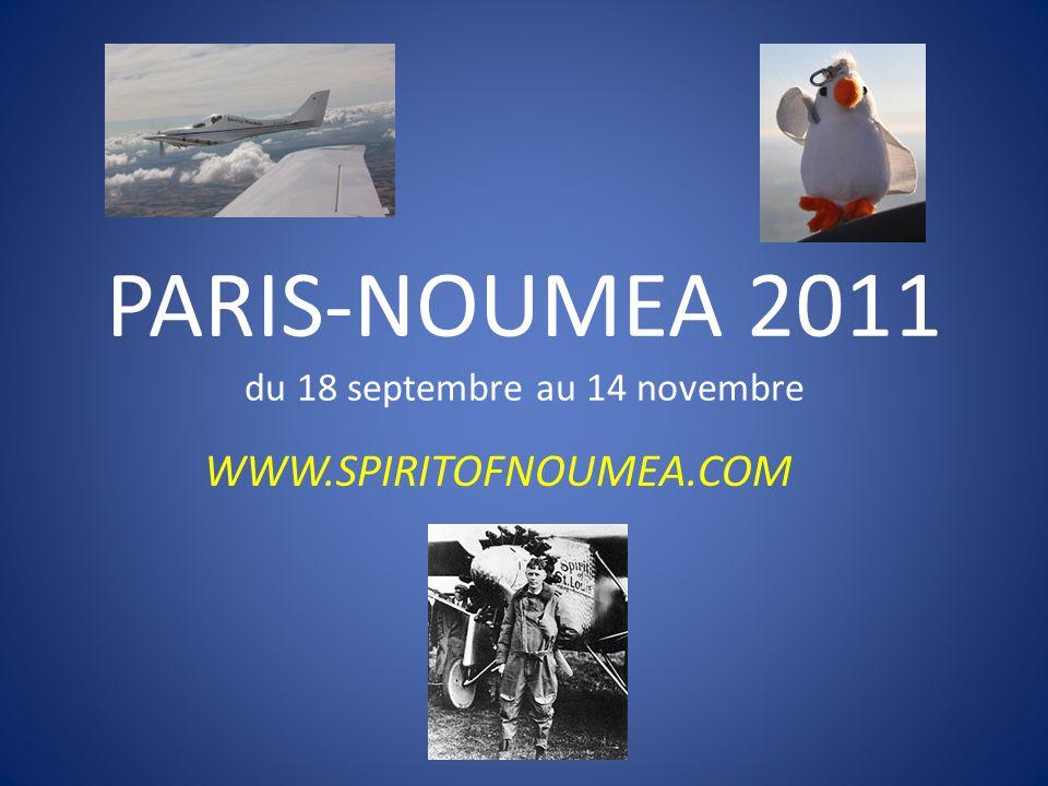 PARIS-NOUMEA 2011 du 18 septembre au 14 novembre