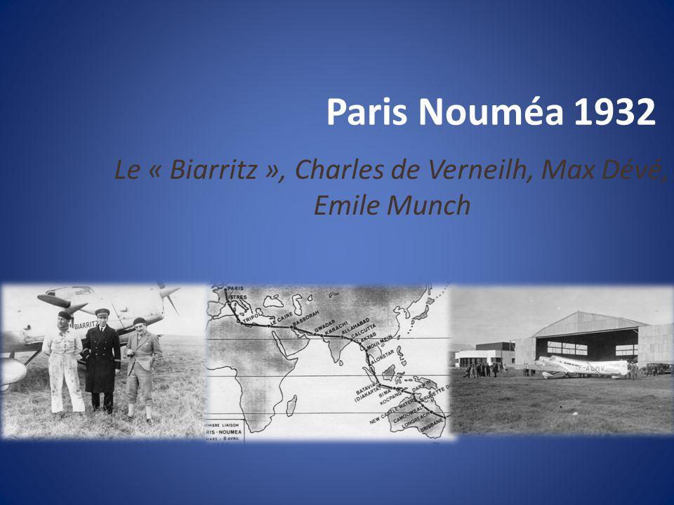Le « Biarritz », Charles de Verneilh, Max Dévé, Emile Munch