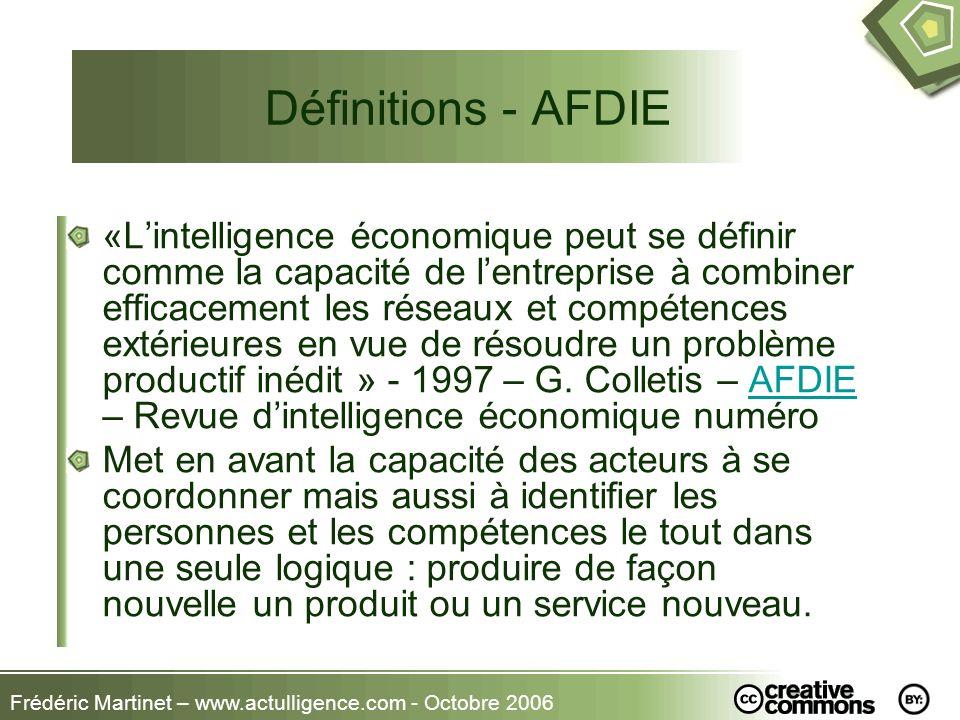 Définitions - AFDIE