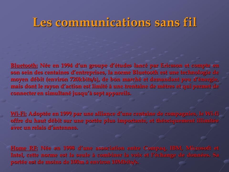 Les communications sans fil