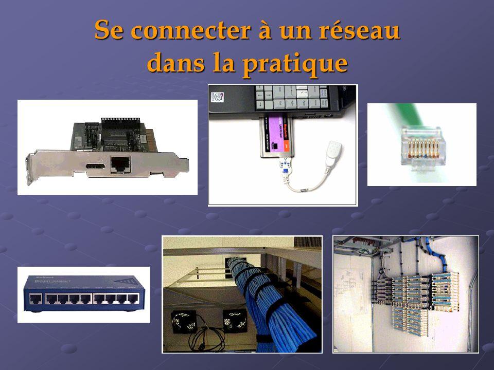 Se connecter à un réseau dans la pratique
