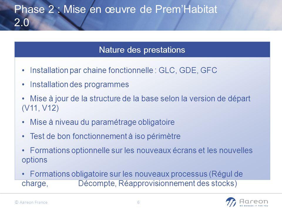 Phase 2 : Mise en œuvre de Prem'Habitat 2.0