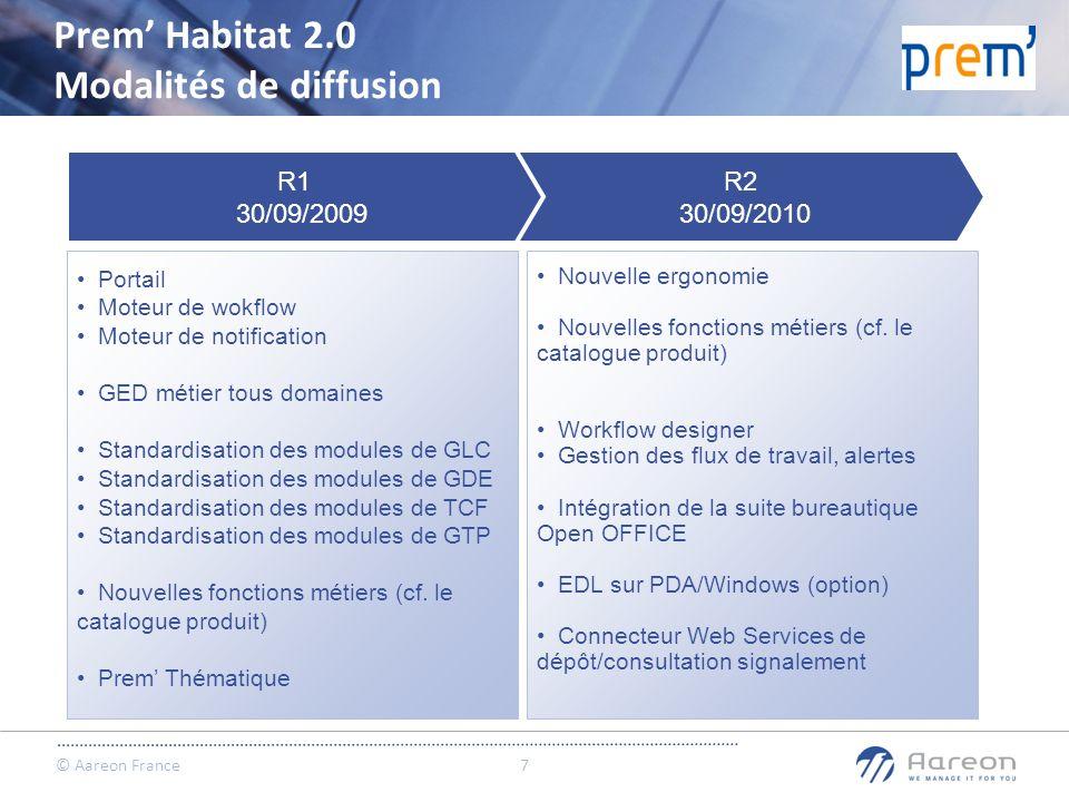 Prem' Habitat 2.0 Modalités de diffusion