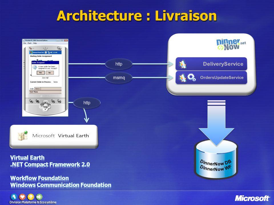 Architecture : Livraison