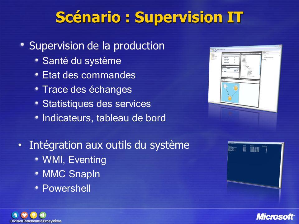Scénario : Supervision IT