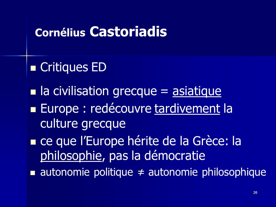 Cornélius Castoriadis