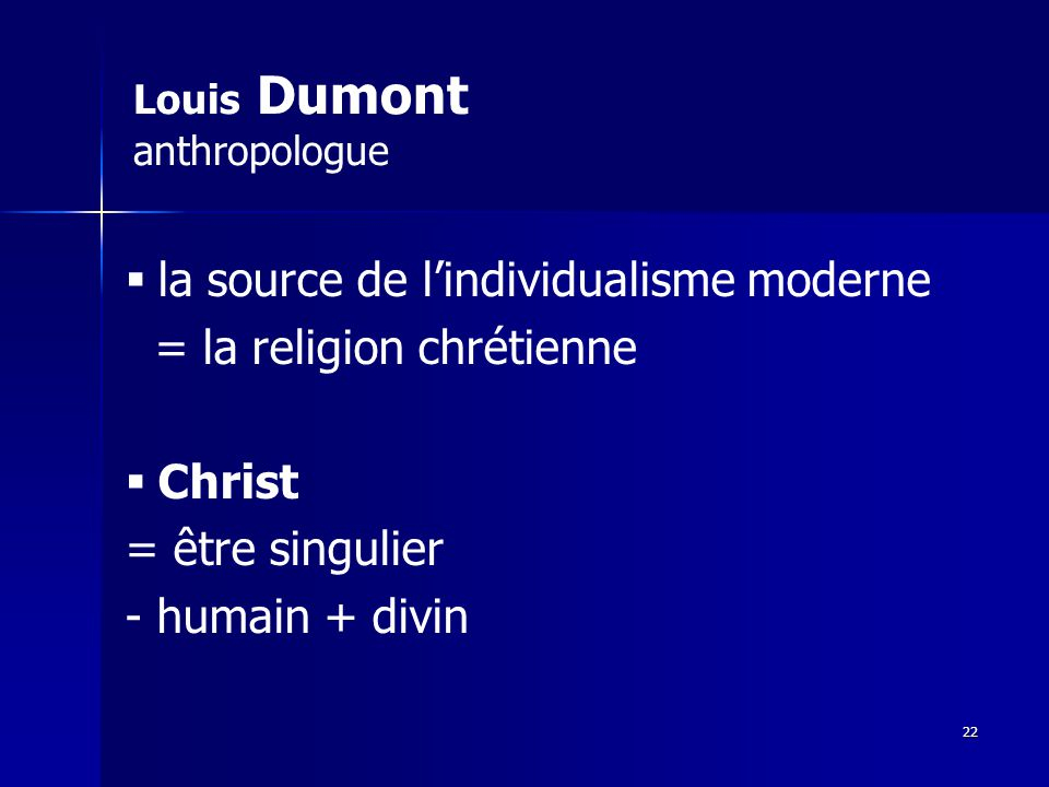 Louis Dumont anthropologue