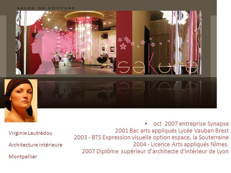 oct 2007 entreprise Synapse 2001 Bac arts appliqués Lycée Vauban Brest