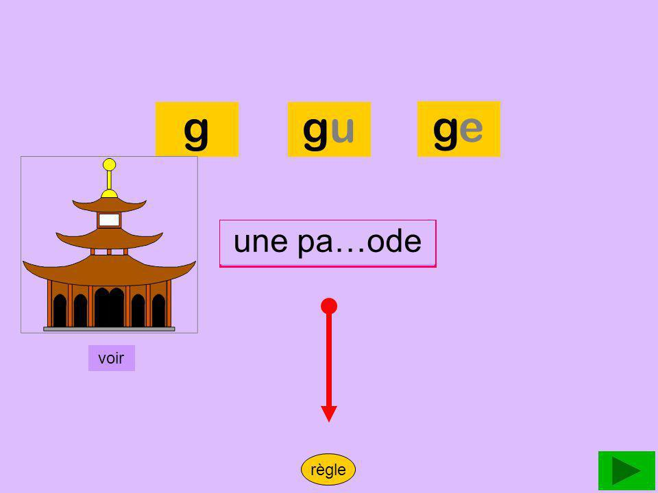pagode g gu ge une pa…ode une pagode voir règle