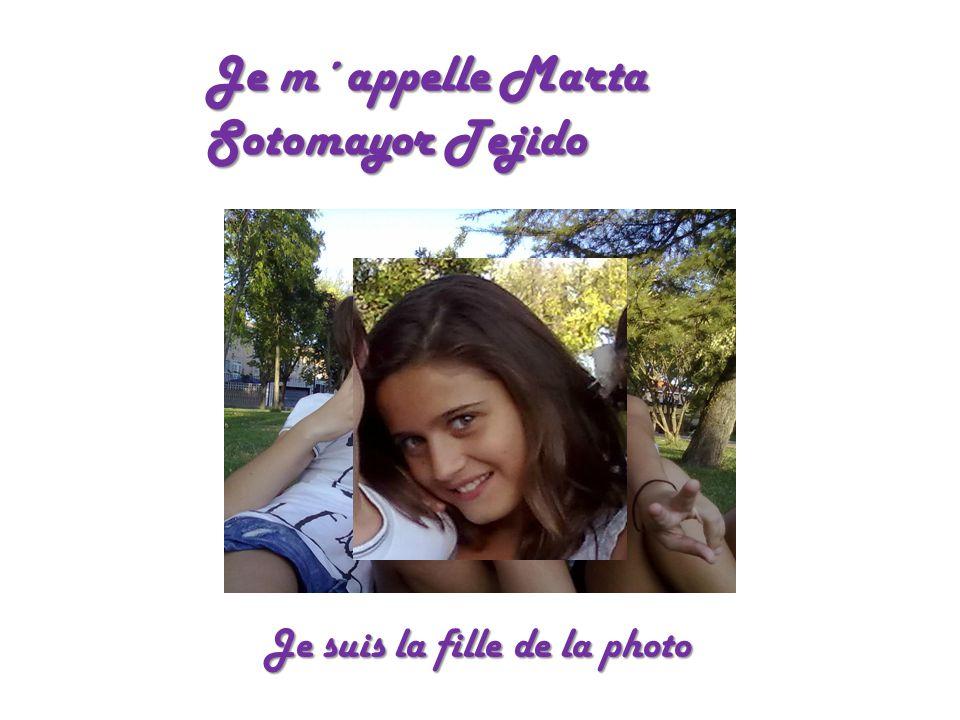 Je m´appelle Marta Sotomayor Tejido
