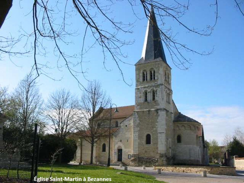 Église Saint-Martin à Bezannes