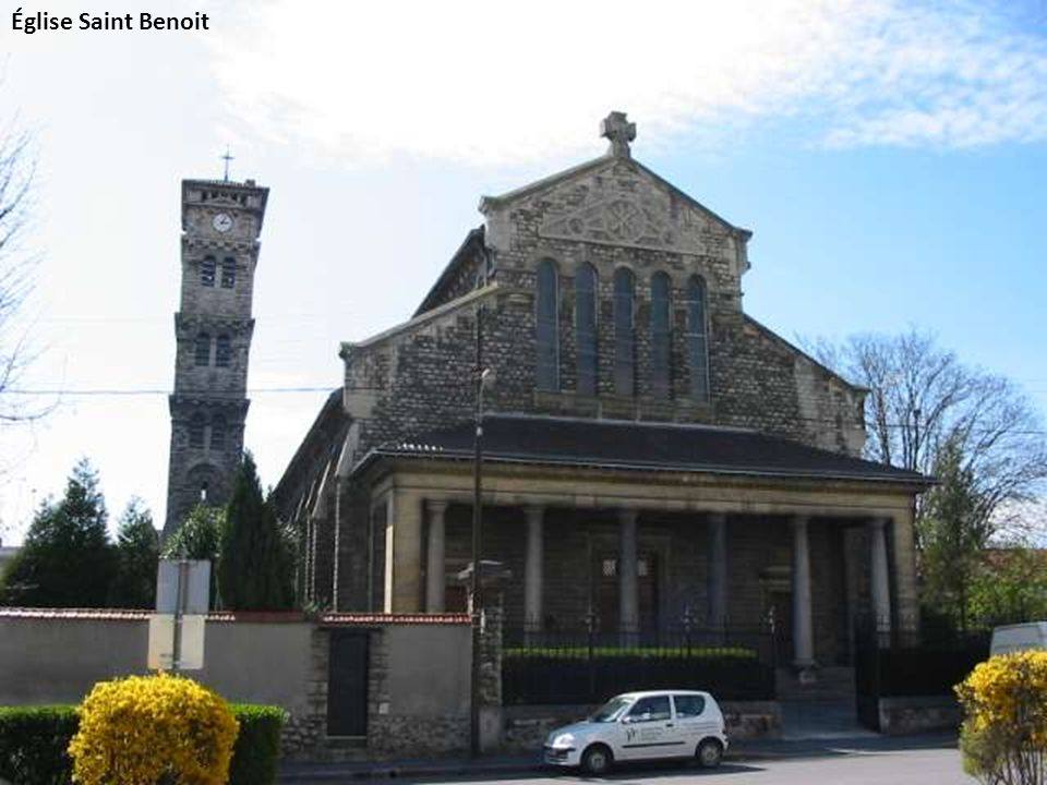 Église Saint Benoit