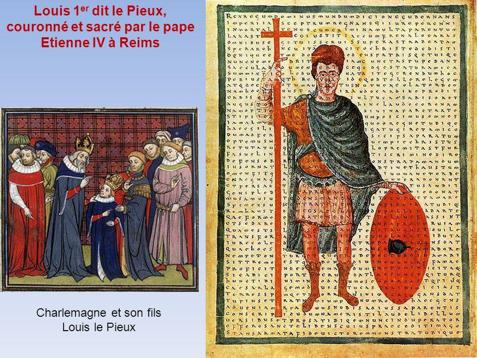 Charlemagne et son fils