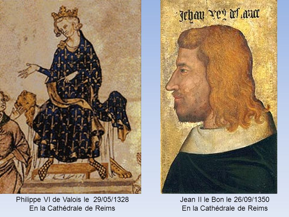 Philippe VI de Valois le 29/05/1328 En la Cathédrale de Reims
