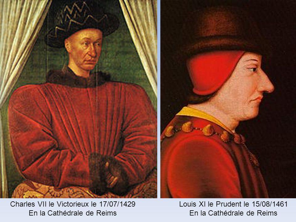 Charles VII le Victorieux le 17/07/1429 En la Cathédrale de Reims