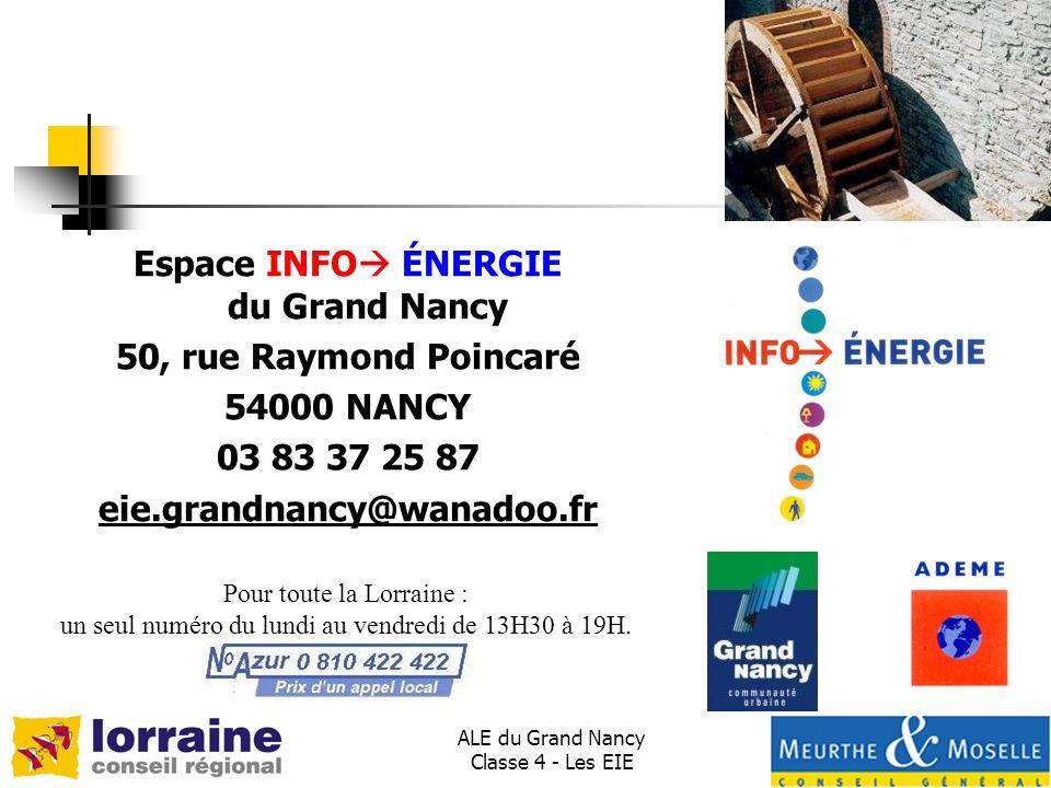 Espace INFO ÉNERGIE du Grand Nancy