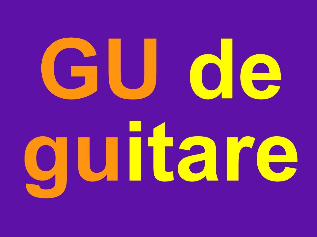 GU de guitare