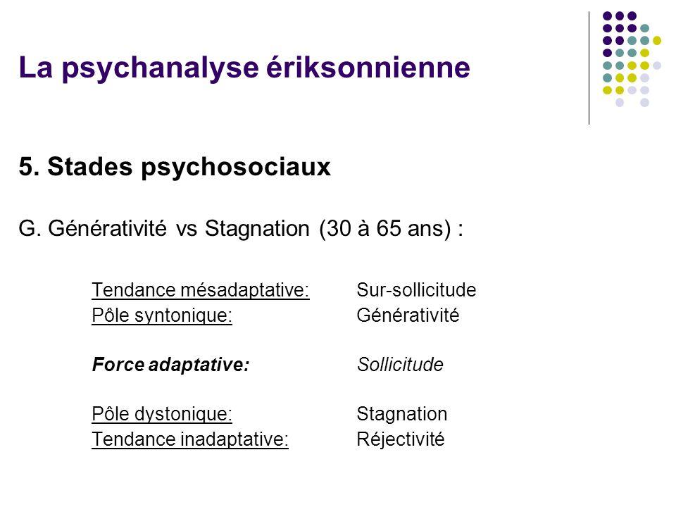 La psychanalyse ériksonnienne