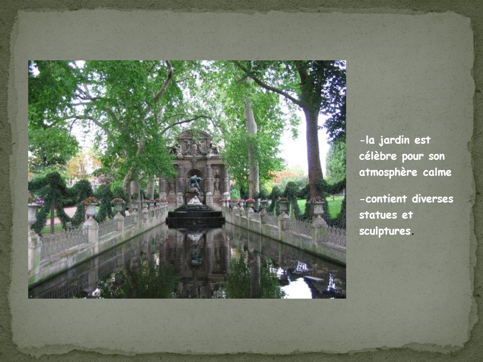 -la jardin est célèbre pour son atmosphère calme