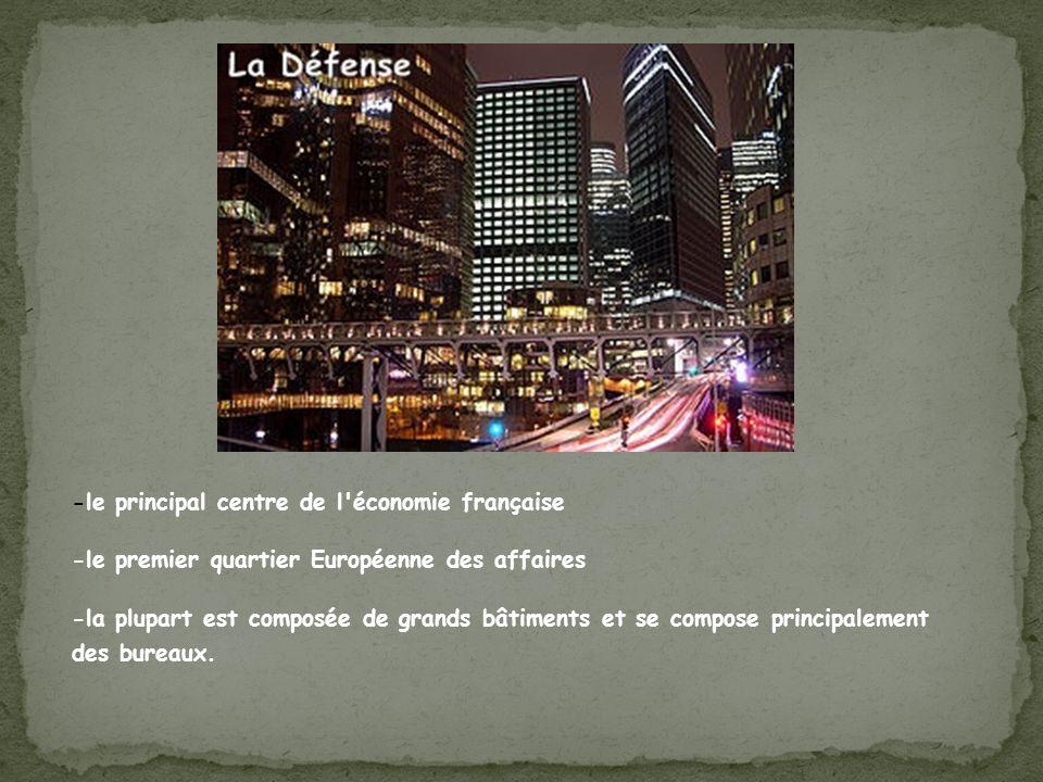 -le principal centre de l économie française