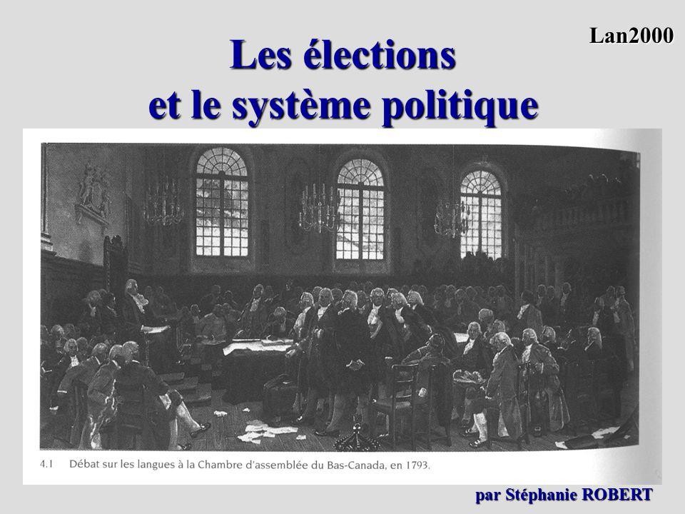 Les élections et le système politique