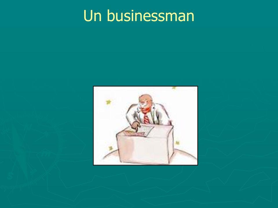 Un businessman