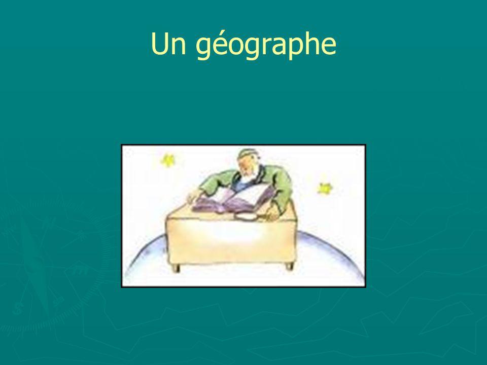Un géographe