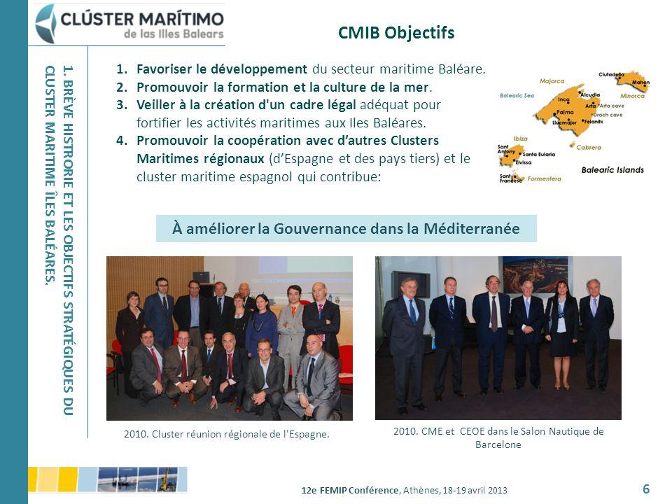 À améliorer la Gouvernance dans la Méditerranée