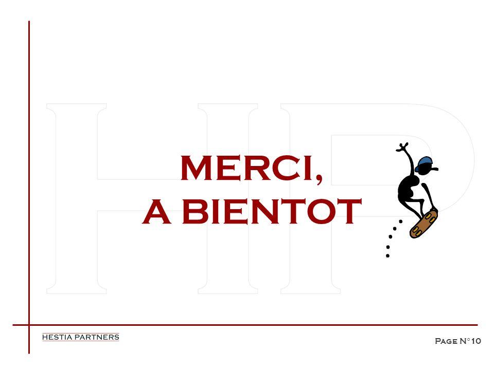 MERCI, A BIENTOT