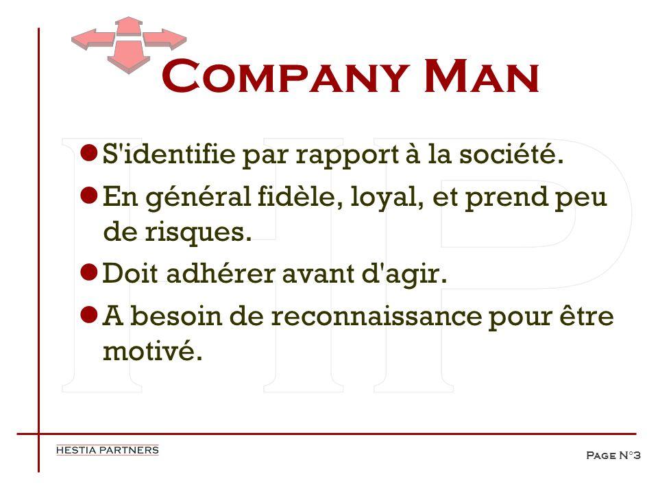 Company Man S identifie par rapport à la société.